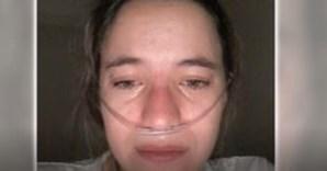 'Não quero morrer, quero viver!': Constança tem 24 anos e sofre de uma doença rara incurável