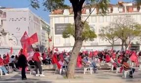 'O confinamento é só para alguns': Celebrações do centenário do PCP 'incendeiam' redes sociais