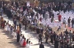 Papa Francisco reza pelas vítimas da guerra jihadista em Mossul, no Iraque