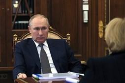 Putin reagiu às declarações de Joe Biden