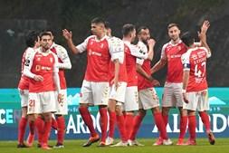 Jogadores do Sp. Braga estão focados em recuperar o 2º lugar da Liga