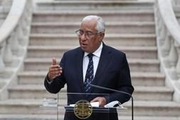 Primeiro-ministro, António Costa, fez uma comunicação ao País a partir do Palácio de São Bento