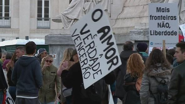 PSP preocupada com manifestação de negacionistas da Covid-19 no centro de Lisboa