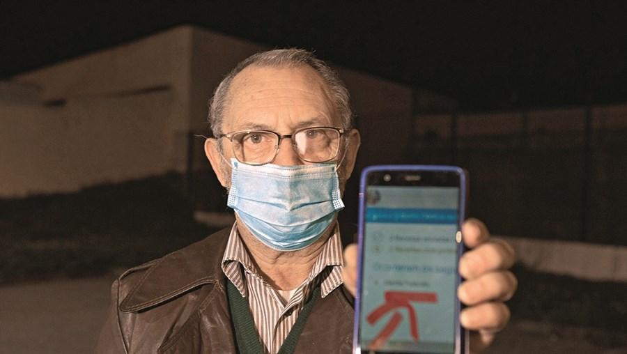 Mário Silva, de 68 anos,é diabético e sofre de problemas de tensão arterial