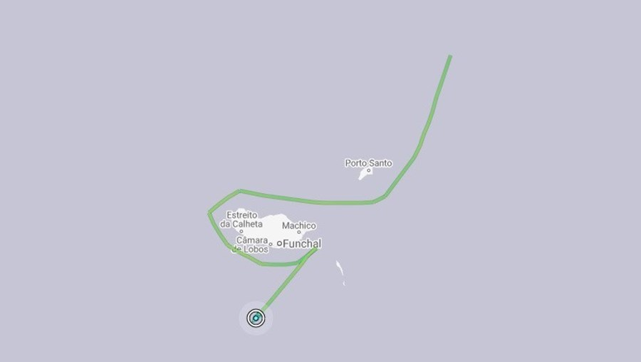 Navio de resíduos nucleares aproxima-se da Madeira e obriga a abordagem da Marinha