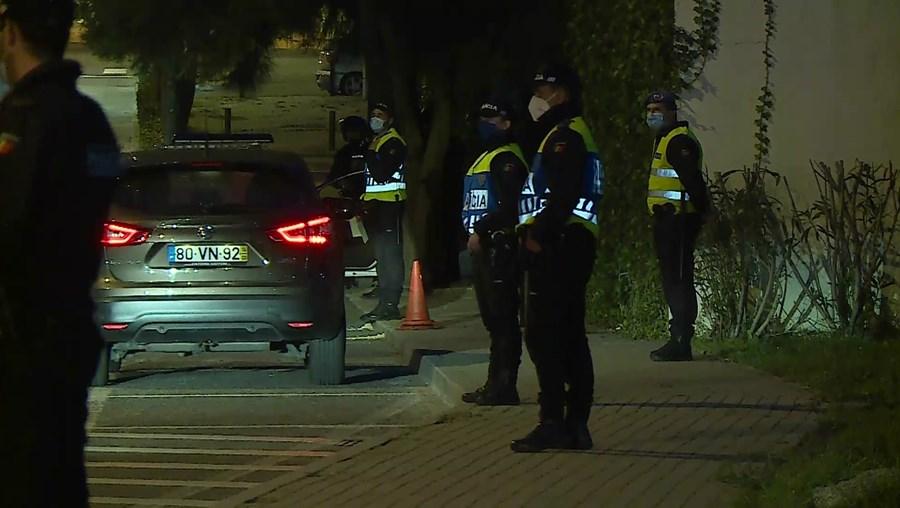 Polícia fez uma intervenção no bairro