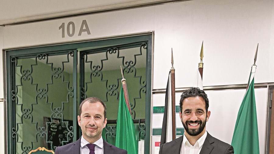 Frederico Varandas e Rúben Amorim juntam-se, um ano depois, para um novo contrato do técnico