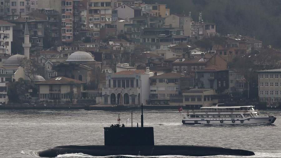 O 'Rostov-on-Don' é um submarino da classe Kilo. Realizou recentemente manobras provocatórias na costa francesa