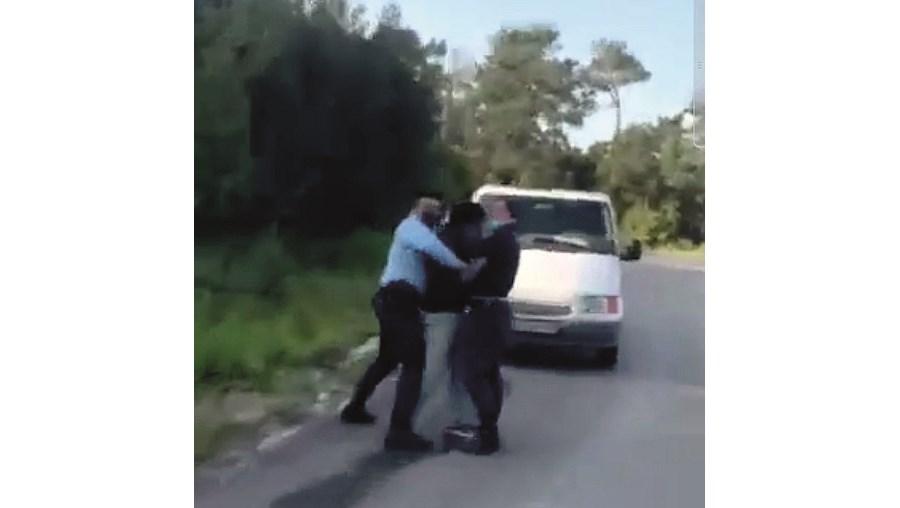 Momento ficou gravado em vídeo