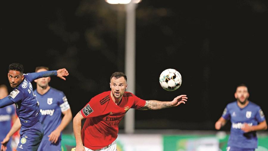 Seferovic  marcou dois golos na vitória (3-0) do Benfica diante do Belenenses SAD, no Jamor