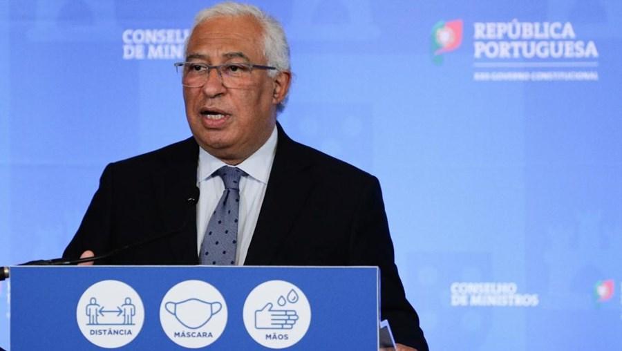 António Costa na apresentação do plano de desconfinamento, no dia 11 de março.
