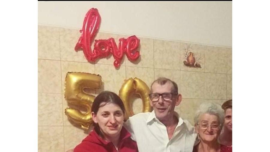 Paula e os pais, João e Leonor