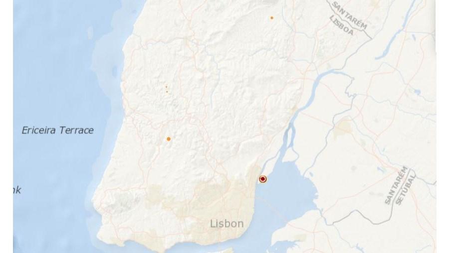Epicentro, sismo, Lisboa, Loures