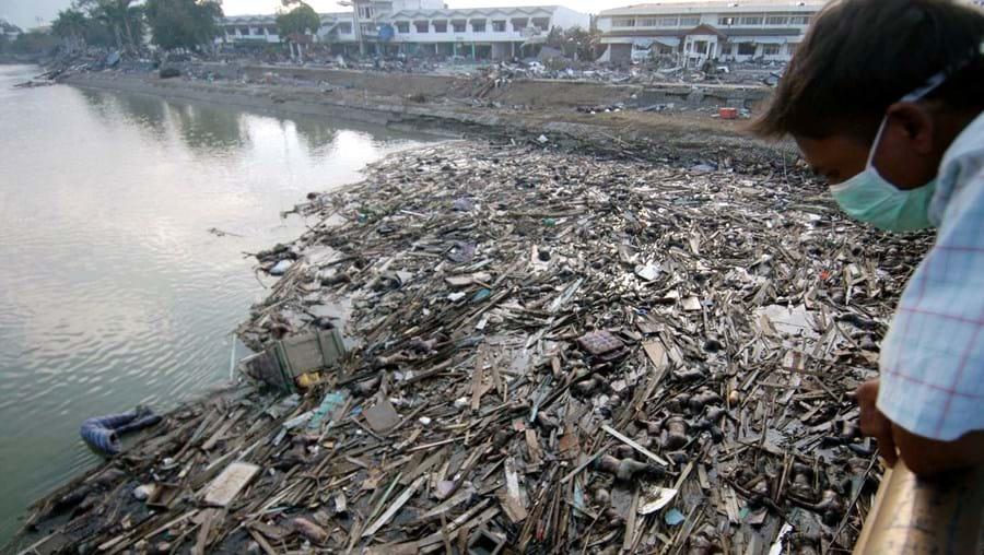 Tsunami Indonésia