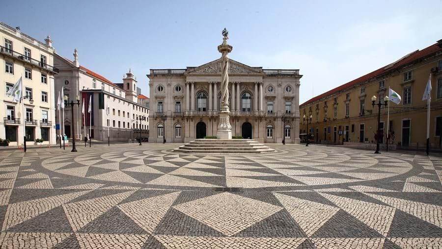 Praça do Município, em Lisboa