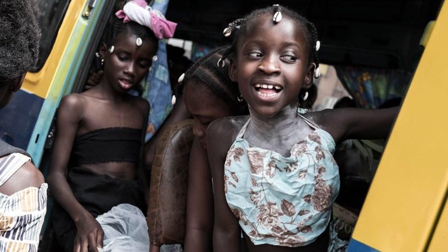 Crianças da Guiné-Bissau