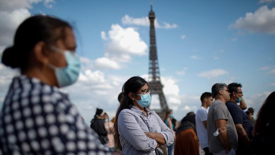 coronavírus, população, Paris, França, covid, paris