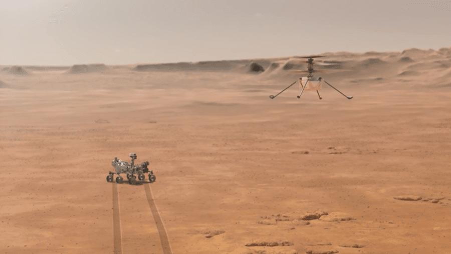 Helicóptero NASA