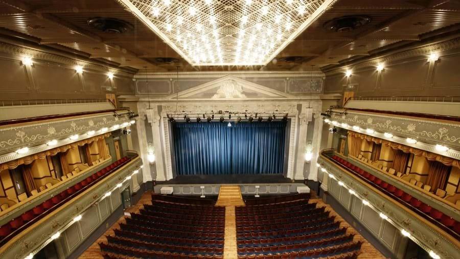 Teatro Tivoli vazio