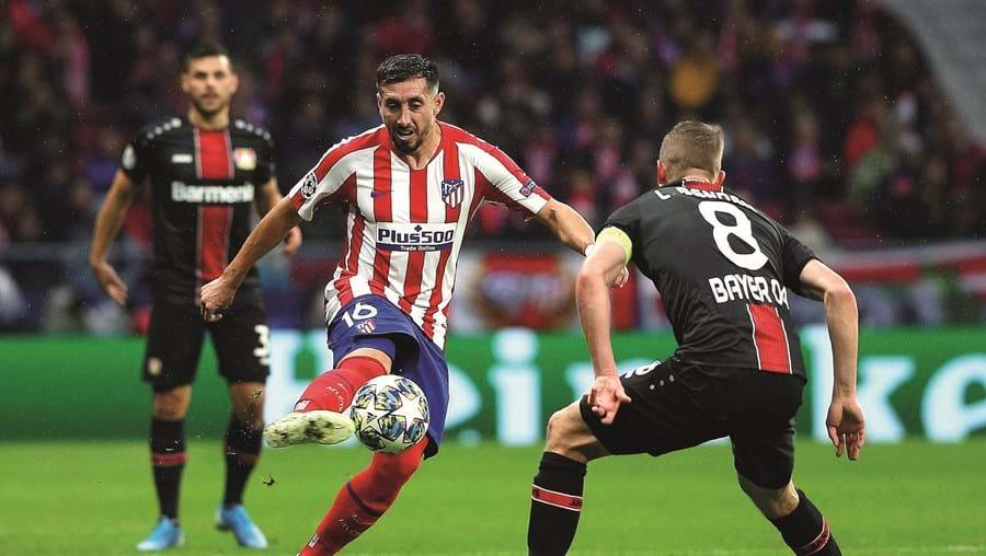 Herrera não se afirmou no Atl. Madrid e esta época só jogou 14 vezes