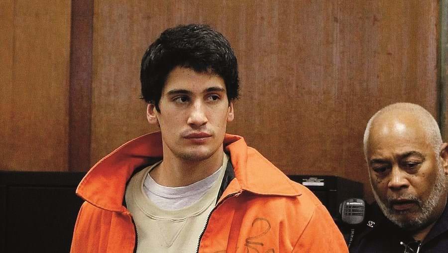 Renato Seabra numa das suas presenças em tribunal, em Nova Iorque