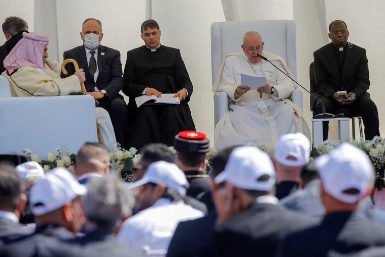 Papa Francisco no segundo dia de visita ao Iraque
