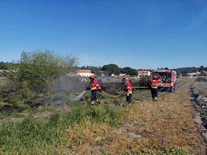 Incêndio consume área de mato no Carvalhal, em Grândola