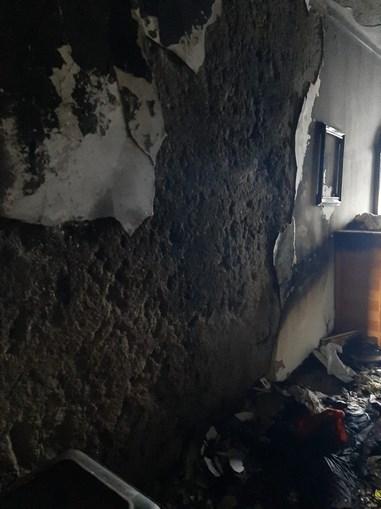 Incêndio faz um desalojado em Santo Tirso