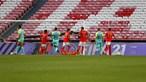Benfica reduz para 11 pontos a distância para o líder Sporting