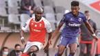 Sp. Braga dá passo atrás com empate frente ao Belenenses SAD