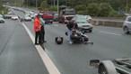 Militar da GNR ferido em colisão com carro durante escolta na A5 em Linda-a-Velha