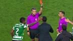 Já é conhecido o castigo de Rúben Amorim após cartão vermelho noSporting-Famalicão