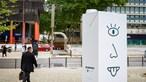 Objeto estranho invade centro de Lisboa