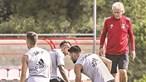 Jogadores do Benfica queixam-se de tareia no treino