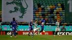 Sporting empata ao cair do pano em jogo renhido contra o Belenenses SAD