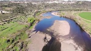 Obras em Espanha agravam seca no Tejo