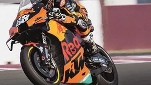 Miguel Oliveira é segundo no Grande Prémio da Alemanha