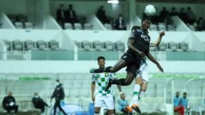 Sporting empata frente ao Moreirense com remate de Walterson ao cair do pano