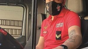 Morte de bombeiro de Cabo Ruivo deixa quartel de luto