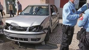 Mulher atropelada por carro no passeio em Setúbal