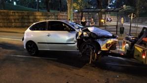 Homem não pára em operação policial e tenta atropelar autoridades no Porto