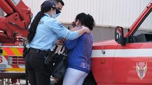 Elevador desaba e mata dois pintores numa queda de 15 metros em Almada