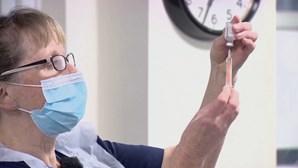 Utentes vacinados com uma dose da Astrazeneca vão ser chamados para segunda toma