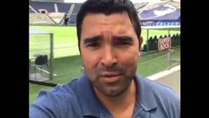 """""""A torcer por vocês. Muita sorte"""": Deco deixa mensagem de apoio ao FC Porto antes do jogo frente ao Chelsea"""