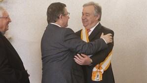 """António Guterres lembra Jorge Coelho como """"amigo muito querido"""" com quem tem """"enorme dívida de gratidão"""""""