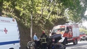Três feridos em despiste aparatoso em Cabeceiras de Basto