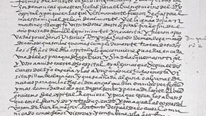 História com 421 anos à venda na Internet por mil euros