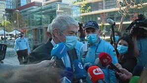 Sócrates diz-se vítima de um ataque com motivações políticas e recusa responder a questões dos jornalistas