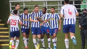 FC Porto vence em Tondela por 2-0 e está provisoriamente a 5 pontos do líder da I Liga