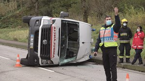 PSP regista 93 acidentes por dia nos primeiros três meses do ano